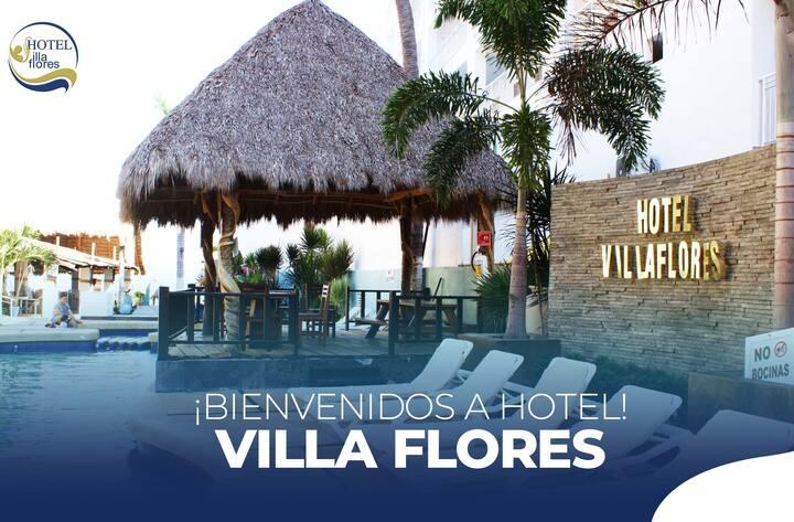 Bungalow para 2 - Hotel Villa Flores