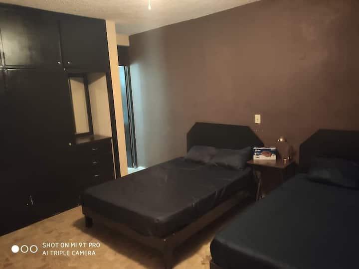 Casa Conchas con alberca privada y wifi, 4 cuartos