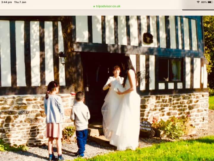 'La Petite Grange' -  beaut rustic Normandy barn.
