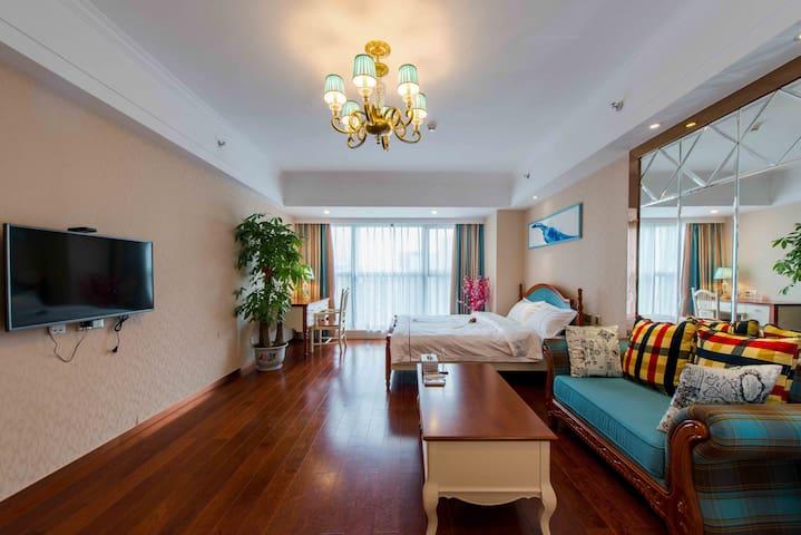 舒适的环境 地中海大床风格 是您的理想选择