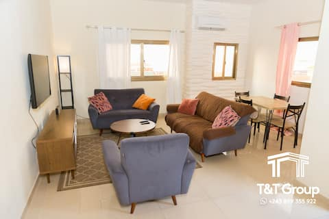 Exclusive Riverfront Condo in Downtown Kinshasa