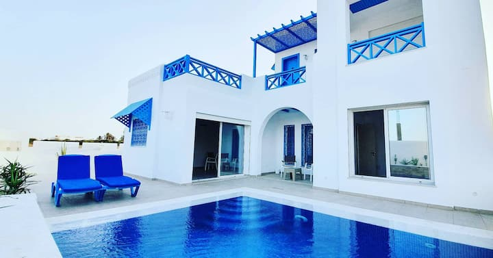 Dar Youssef: Villa authentique et moderne à Djerba