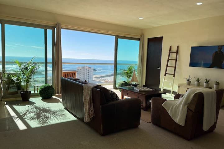 ***Ocean Front, apartment  with a view@LaMarina***
