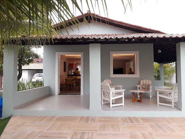 Casa de Praia em Serrambi a 150 metros do mar.