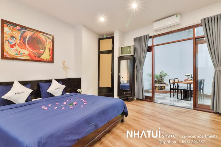 NTS Quy Nhơn serviced apartment 1 bed with terrace