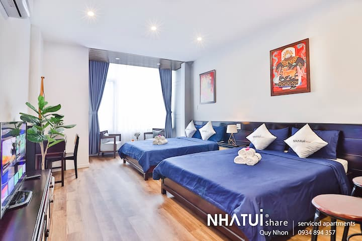 NTS Quy Nhơn apartment 2 beds with natural light