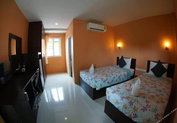 Comfy Suite Room at Serene Place