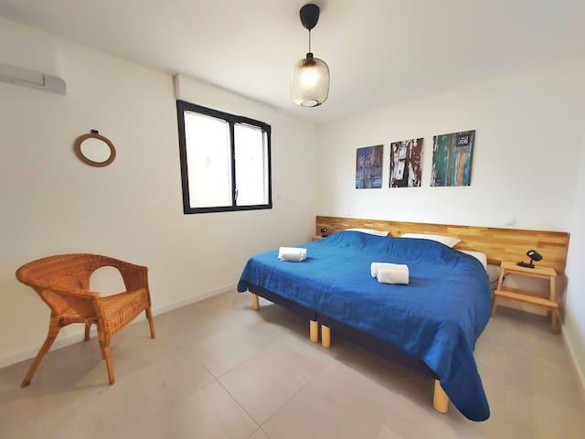 chambre 2 (2 X lit simple)
