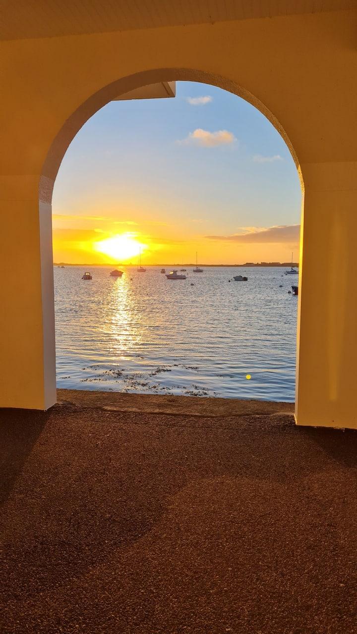Studio cabine la mer à vos pieds