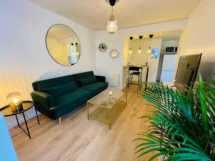 Appartement de charme /Centre Ville/Proche Paris