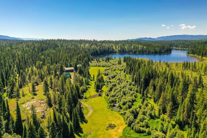Dog Creek Lodge; Luxury Lodge Near Whitefish, MT