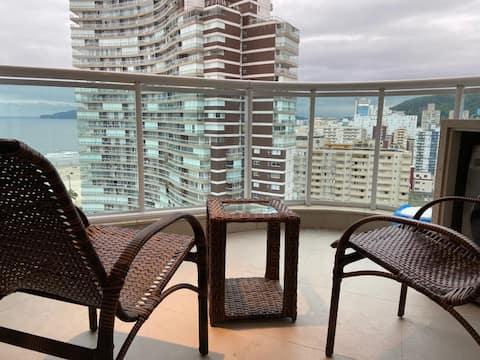 Reservar Santos - Estanconfor 2010 - Amplio balcón con la mejor vista al mar