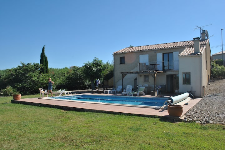 Great holiday house with private pool and garden