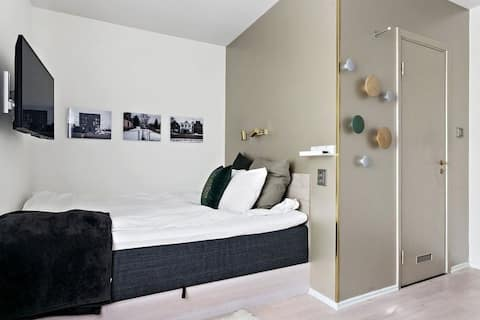 New modern studio flat in Telefonplan