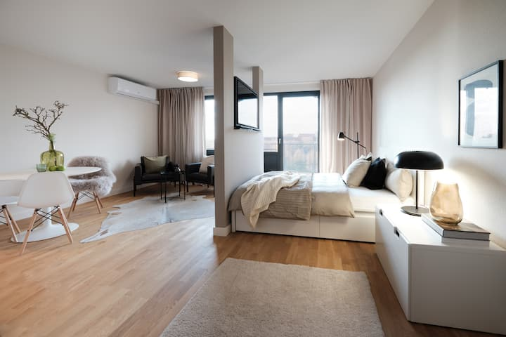 SAXX Apartments Leipzig Studio Deluxe