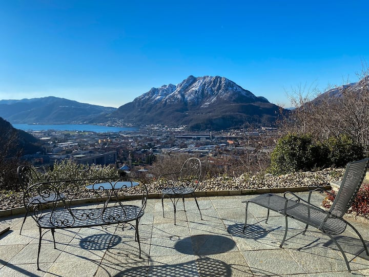 Panoramic Relax Luxury Villa Lake Como (Verde)