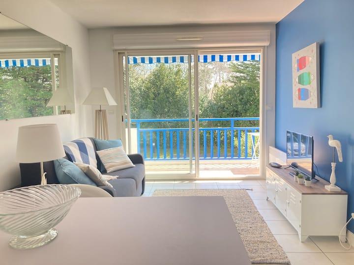 Appartement cosy proche rue piétonne et plages
