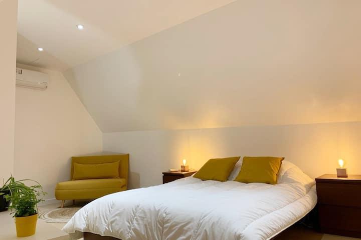 New contemporary house, Orsay-Plateau Saclay