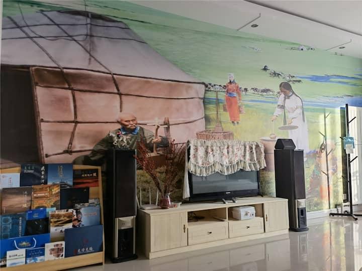 【悠家】近高速·成吉思汗陵旅游区 成吉思汗博物馆 成吉思汗行宫 大伊金霍洛遗址 少数民族特色小镇