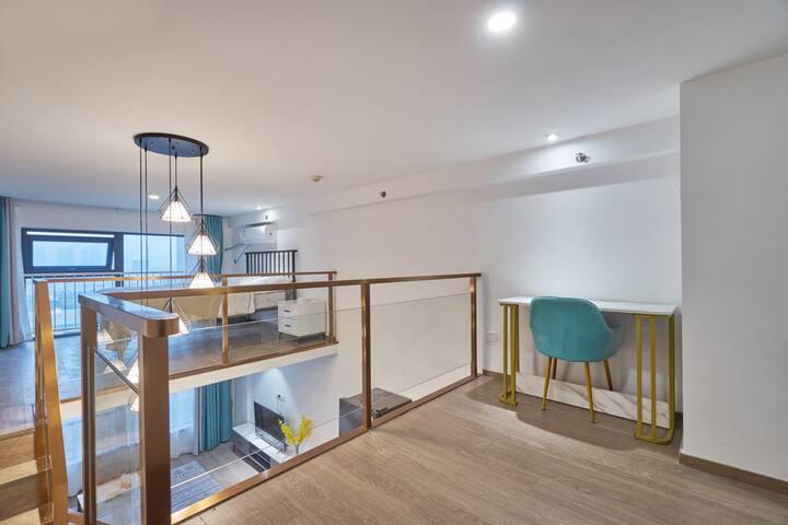 漫时光公寓_复式简约一居室