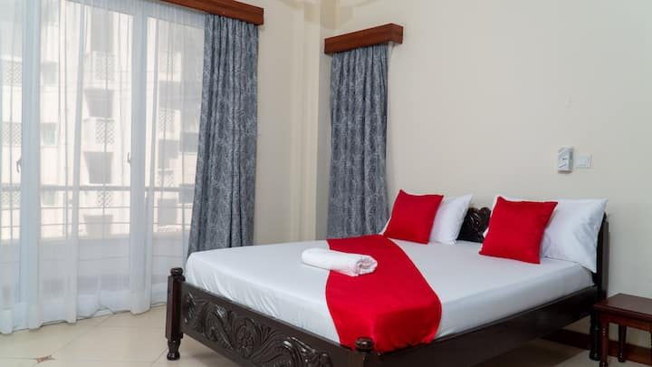 Modern and Comfy Apt in Nyali with Pool  & Gym