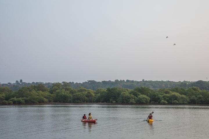 3BR Riverview w/ WIFI,Kayaks&Bikes Near patnem