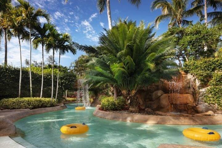 Luxury Hyatt resort 2 bedroom villa private beach