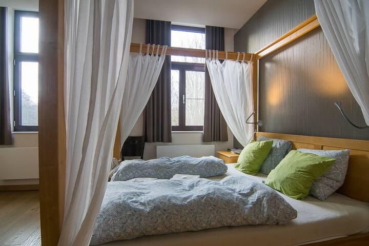 1ste verdieping in luxe guesthouse voor 6 personen