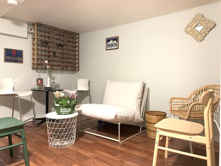 Private Basement Suite in Downtown Toronto
