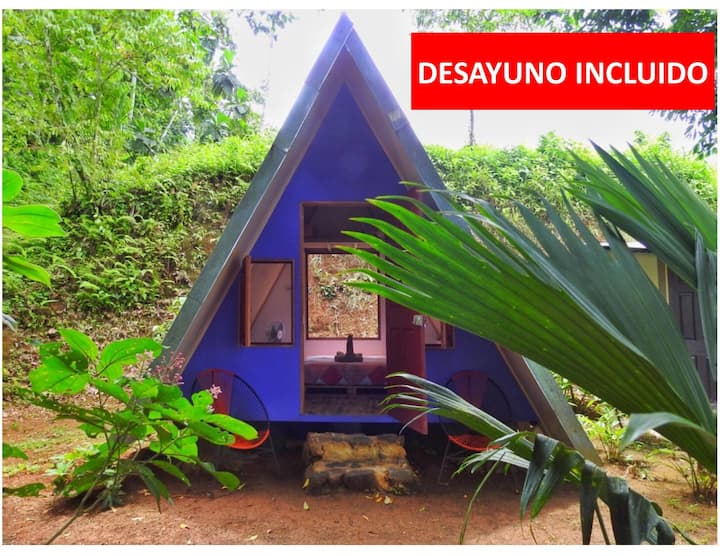Chalet privado tipo camping, Bed & Breakfast #2