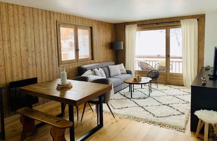 Magnificent flat in the heart of Megève