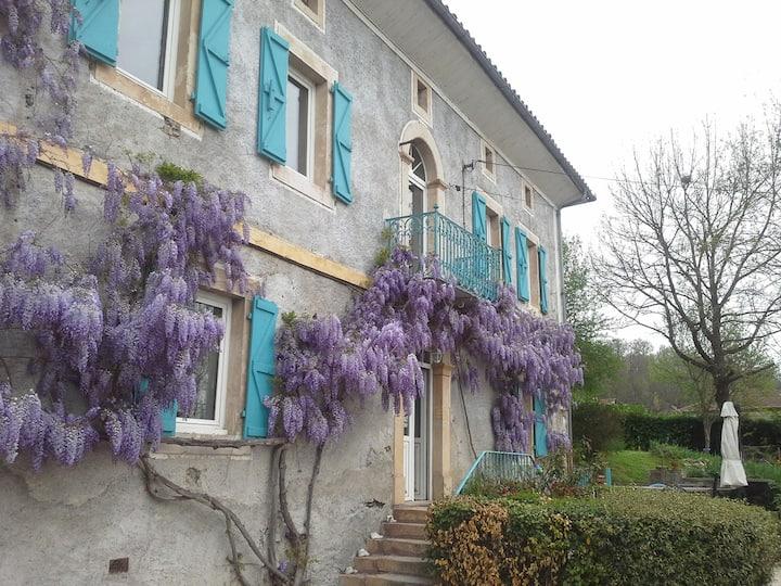Maison de Maitre- Chambre 2