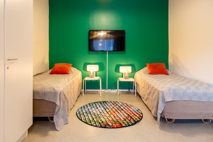 Myllymäki /Quadruple Room with Shared Bathroom