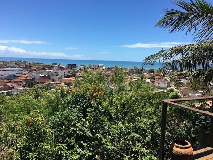 Casa de Praia Super Aconchegante c/ Vista p/ o Mar
