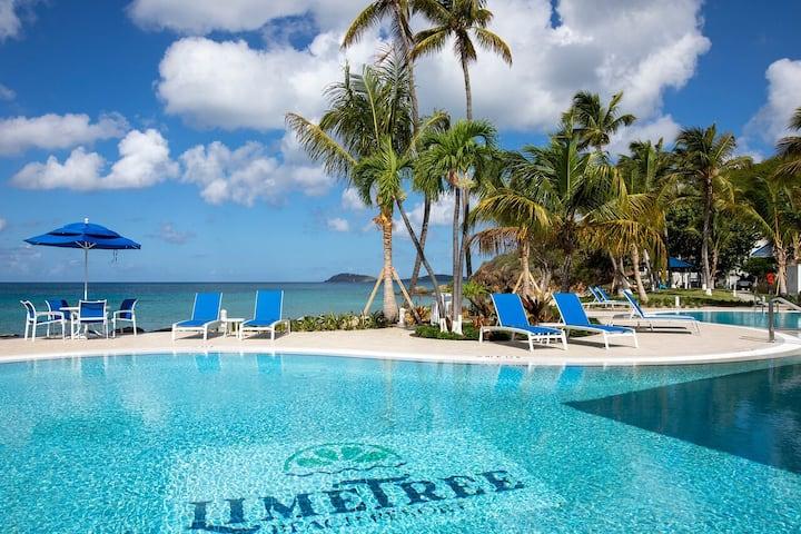 Caribbean Studio Deluxe Unit at Limetree Resort