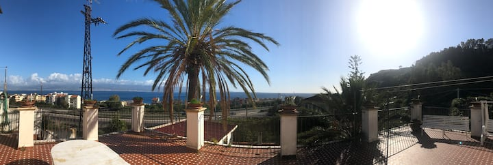 Villa Nataly tra Messina e Taormina