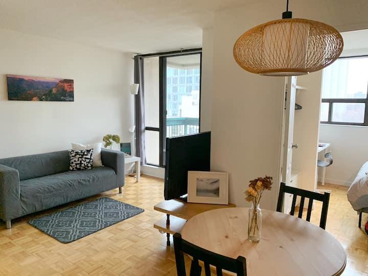 Downtown Toronto 1BR Newly Furnished Cozy Condo