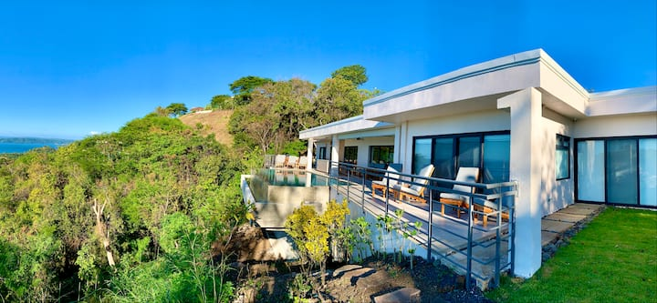 Brand new 4 BR home with breathtaking ocean view