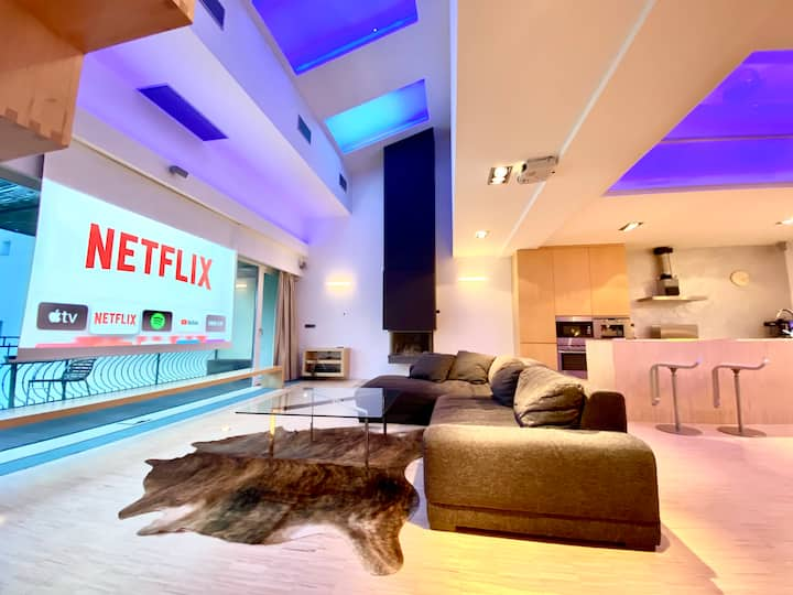Penthouse with jacuzzi and cinema [A5] Res. Caesar