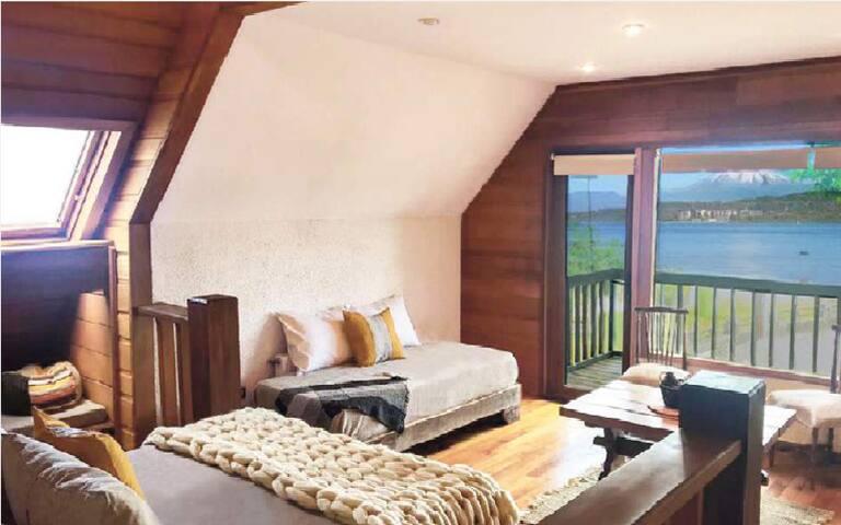 Habitación Chilco, Hotel Costanera, Villarrica.