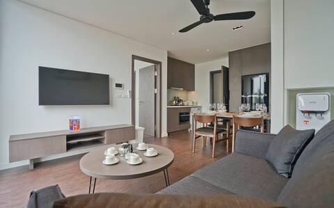 Modern & quiet 1bedroom/apt near by Lotte, Ba Dinh
