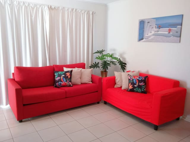 Sofa bed and 2 seater couch