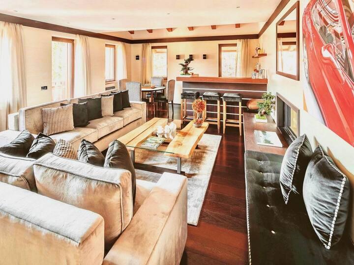 Wetterstein Ferienhaus Top-Class modern und geräumig