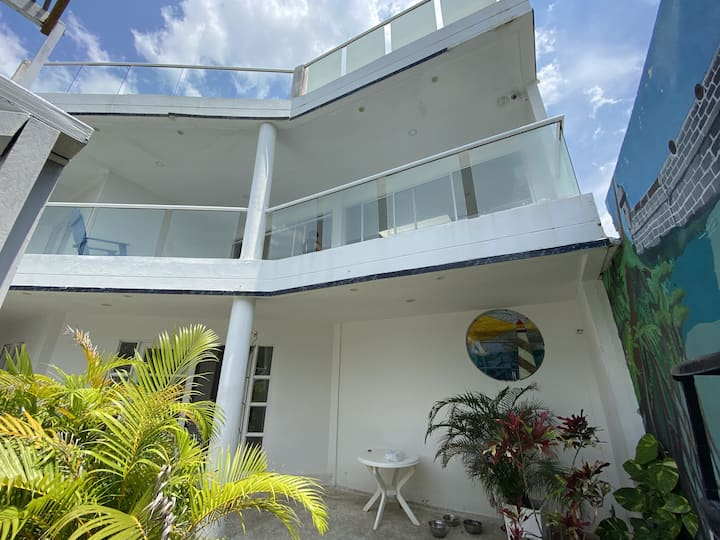 Getaway house at La Boquilla! + pool, beach