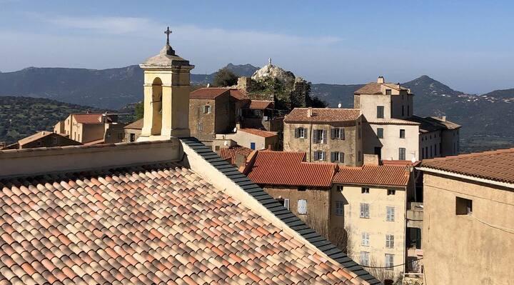 Maison Typique Corse en Balagne