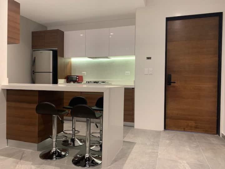 Casa Cubo D1, nuevo y cómodo  departamento de lujo