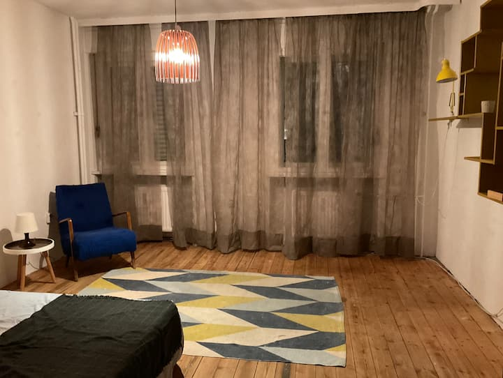 Central furnished X-Berg 1,5 room apartment