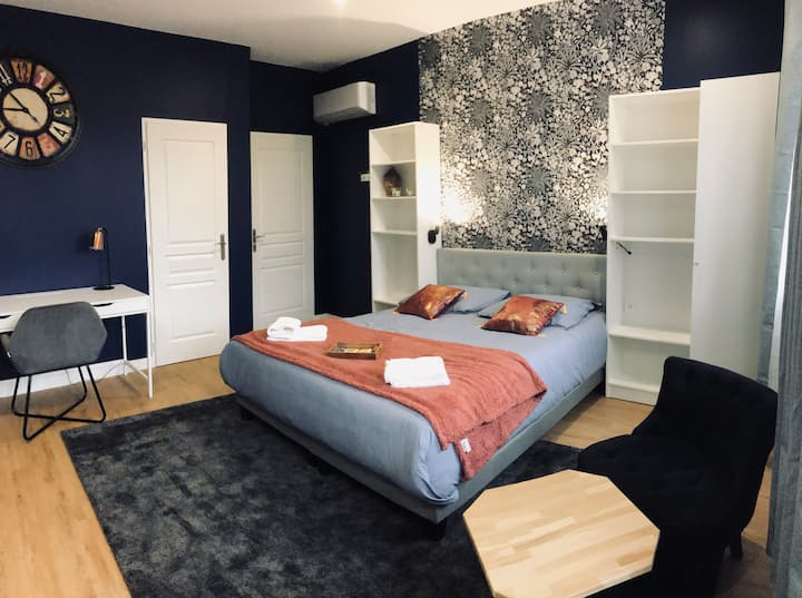 Bed & Breakfast LAPLACE : Chambre Deluxe.