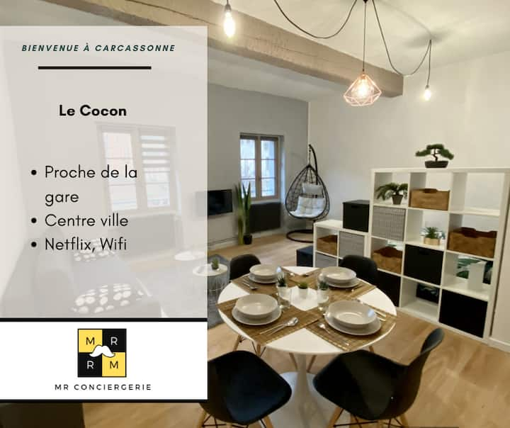 ★New★Le Cocon★CENTRE VILLE★