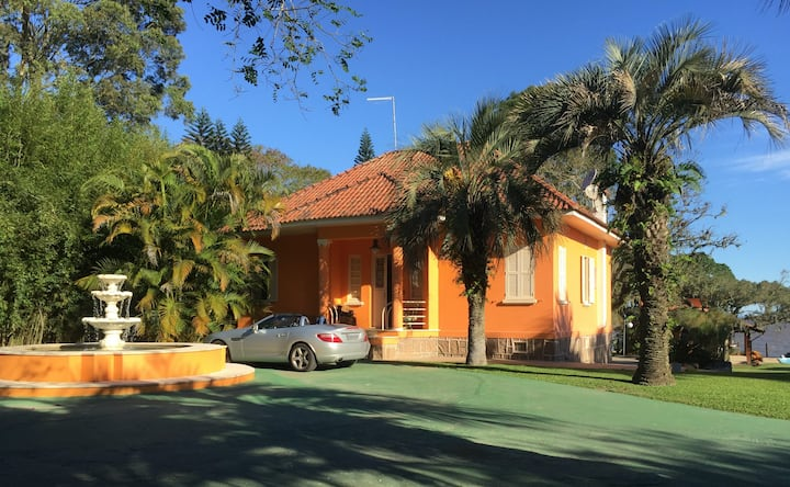 Casa Theodor Wiederspahn - Retiro no Lago Guaíba
